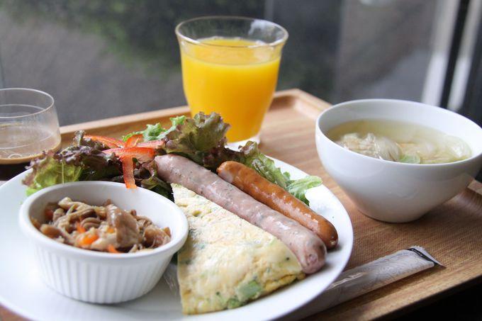 ヘルシーかわいい朝食でエネルギーチャージ