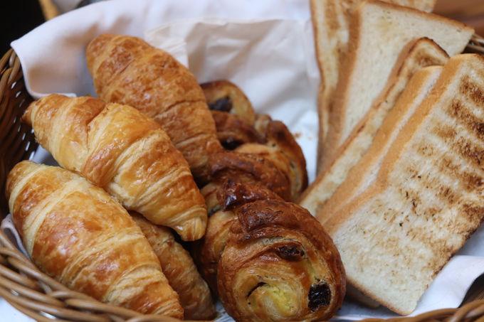 5種類から選べる朝ごはんはおいしいヘルシー!