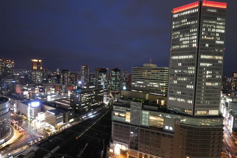大阪駅上でトレインビュー&夜景を堪能!ホテルグランヴィア大阪