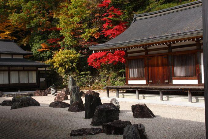 高野山へのアクセスと入り口の金剛峰寺