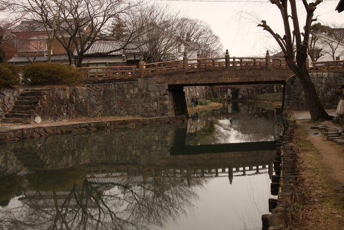 水景を撮影するなら浮橋で