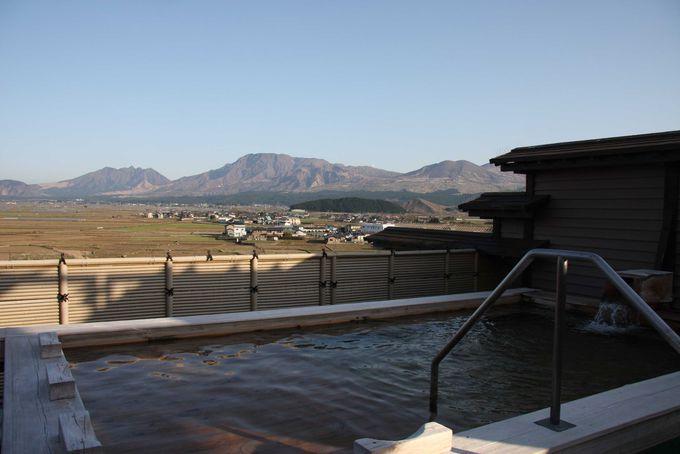 阿蘇五岳を目の前に!絶景露天風呂