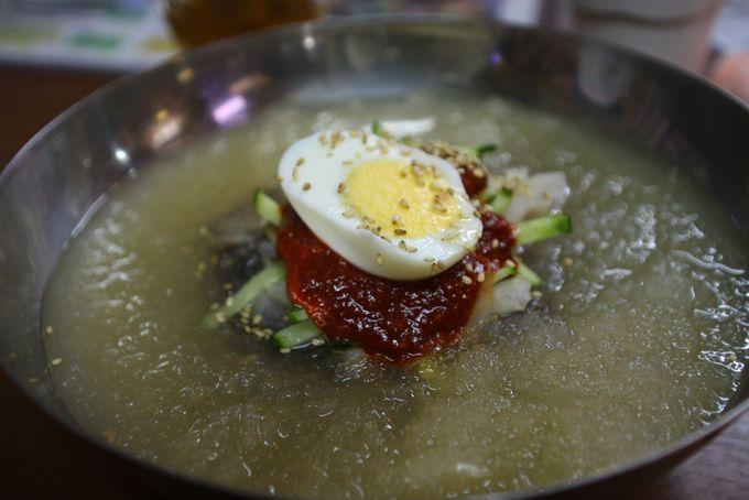日本橋の冷麺専門店