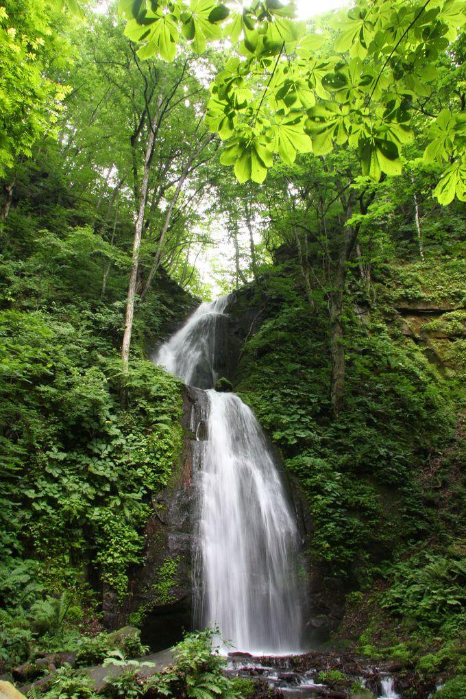 雲井の滝、九段の滝、奥入瀬渓流最大の瀑布「銚子大滝」