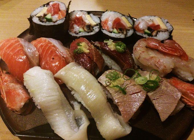本当に穴場のその名も穴場寿司
