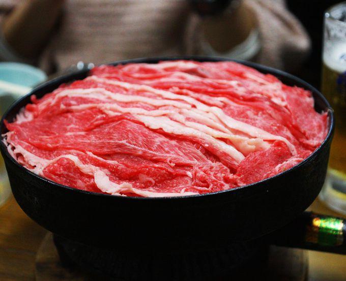 蓋が牛肉!!!