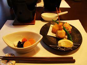 京都の町屋でおしゃれに格安ランチ!「創作料理とおすし季味」