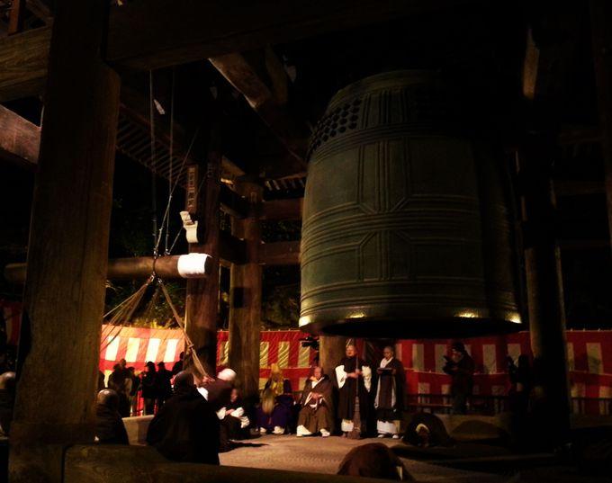 知恩院・除夜の鐘の最適な見学場所