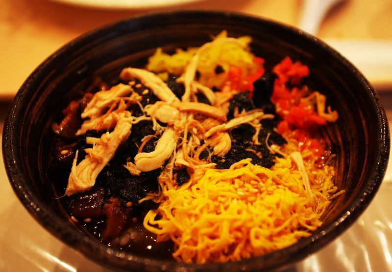 鹿児島空港の食事は鶏飯バイキング580円で決まり!奄美の郷土料理はどんなもの?