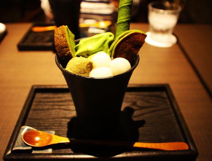 京都の抹茶の極みを堪能!翠泉パフェ