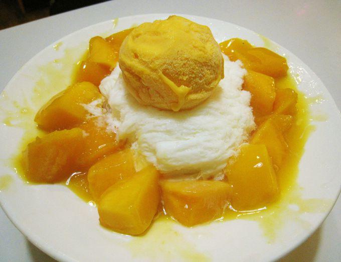 マンゴーとマンゴーアイスが濃厚すぎる「名臻芒果冰」