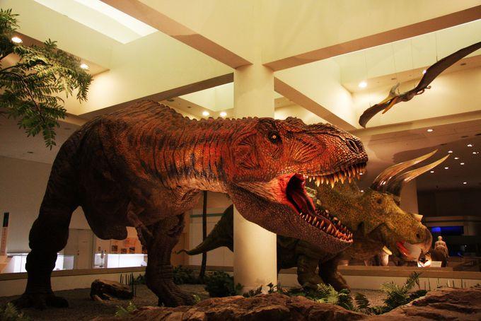 実物大の動く恐竜は子どもが泣き叫ぶほどの迫力