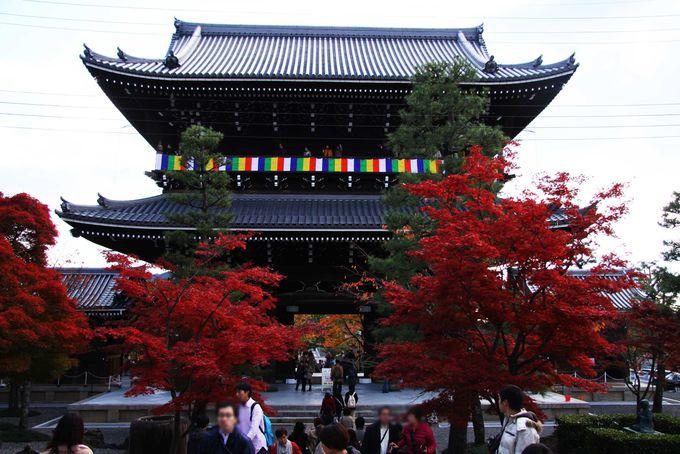 紅一色に染まる金戒光明寺