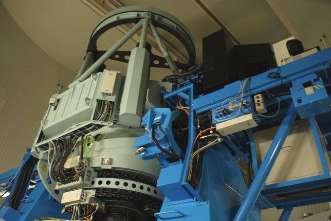 なゆた望遠鏡でみる夜間天体観望会
