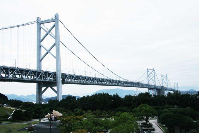 瀬戸大橋絶好のビュースポット「与島PA」