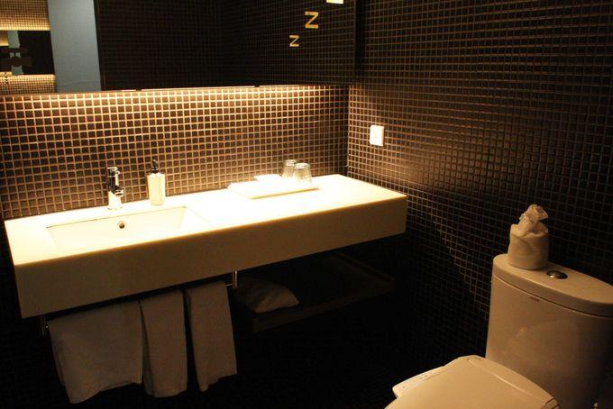 広さ抜群のバスルーム