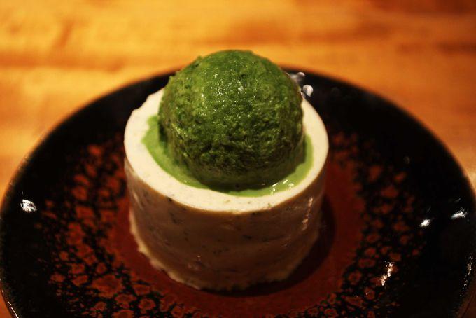 生茶葉がごろっと!茶葉のヨーグルトケーキ