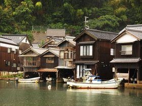 日本で一番海に近い京都伊根町!若狭湾沿いに連続する舟屋群が圧巻!