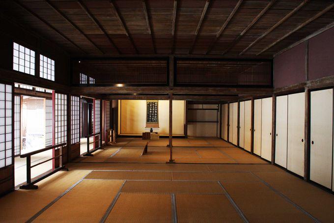 公式な会議や儀式が行われた大広間