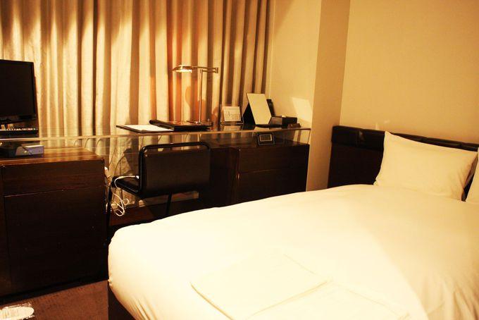 赤坂ならではの夜景が堪能できる部屋も!