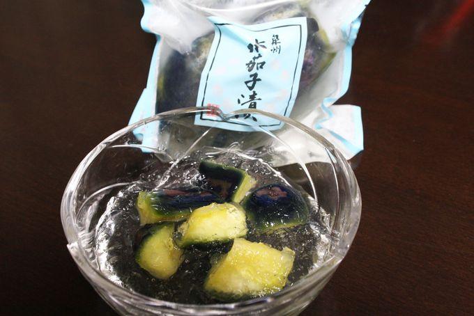 おむすびにはなにわの伝統野菜を使った漬物を!