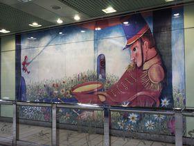 台湾・南港駅で絵本の世界を体感!作家ジミーの世界観を乗車チケット1枚で触れる幸せ