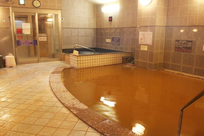 ブラックシリカ配合の温泉は体の芯からポッカポッカ