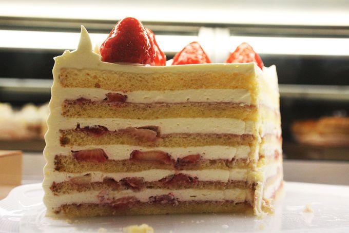 数量限定の本店特製ショートケーキ