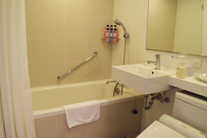 多機能シャワーヘッドで癒しのバスタイム
