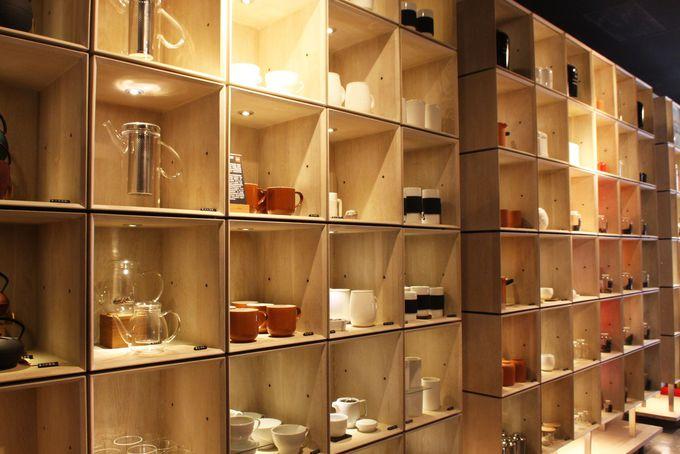 使った食器はすべて1階で購入できます