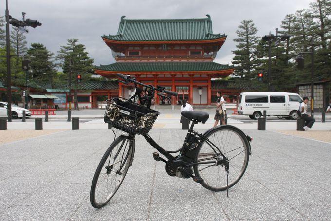 京都の朝はサイクリングが気持ちいい!