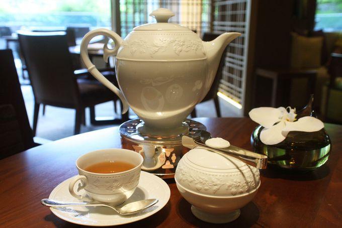 四季で変わるSeasonal Tea Selectionがおススメ