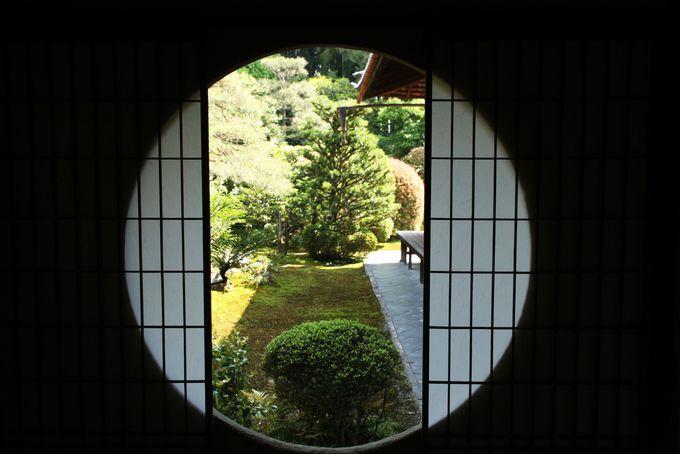 雲舟が作った庭園が美しい芬陀院(ふんだいん)