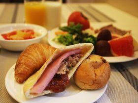 テラスで手作りピタパン朝食!ホテルトラスティ心斎橋でヨーロッパ気分