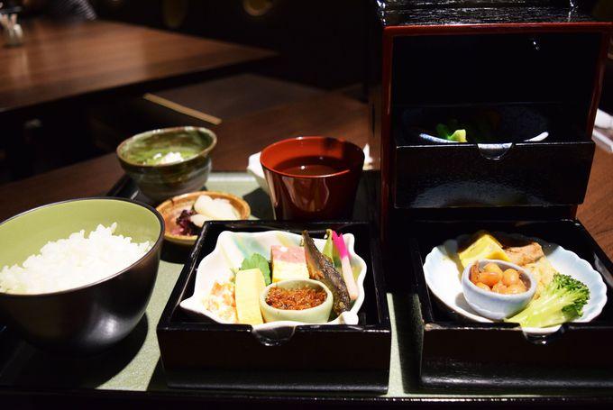 見た目に美しい京都おばんざい朝食