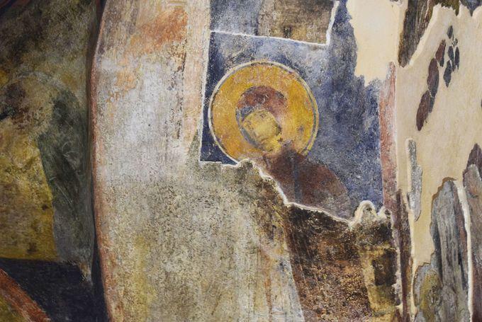 11世紀のフレスコ画も見てみよう