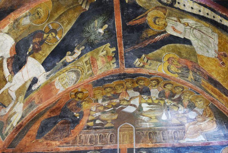 ブルガリアの世界遺産「ボヤナ教会」のフレスコ画が圧倒的スケール