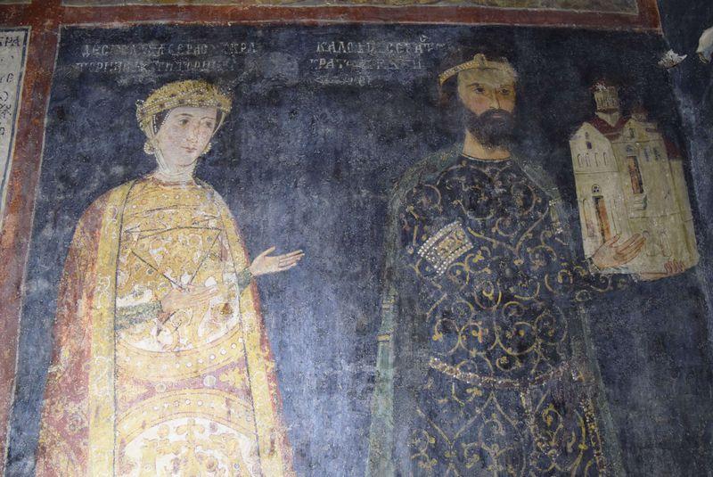 ブルガリア最古の歴史人物の肖像画