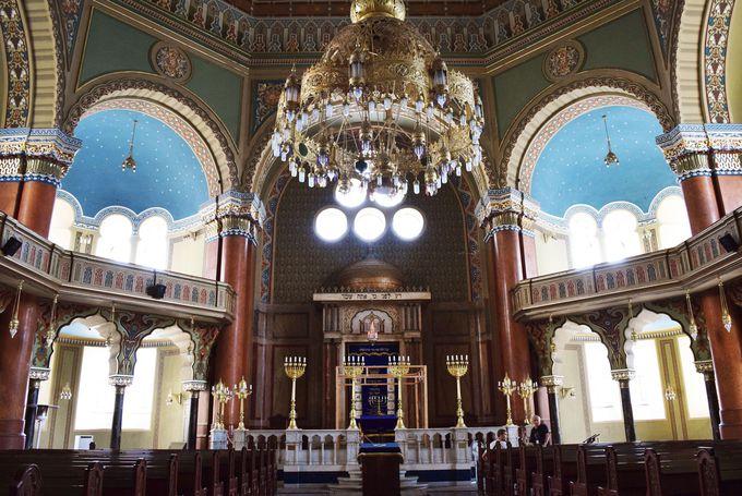 ヨーロッパ最大のユダヤ教寺院「シナゴーグ」