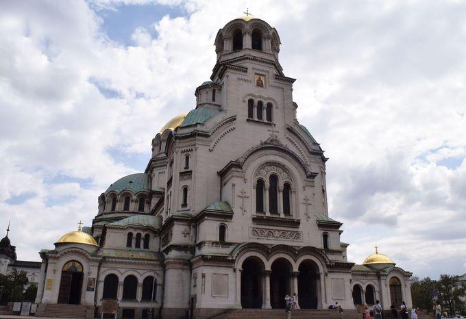 1.アレクサンダル・ネフスキー寺院