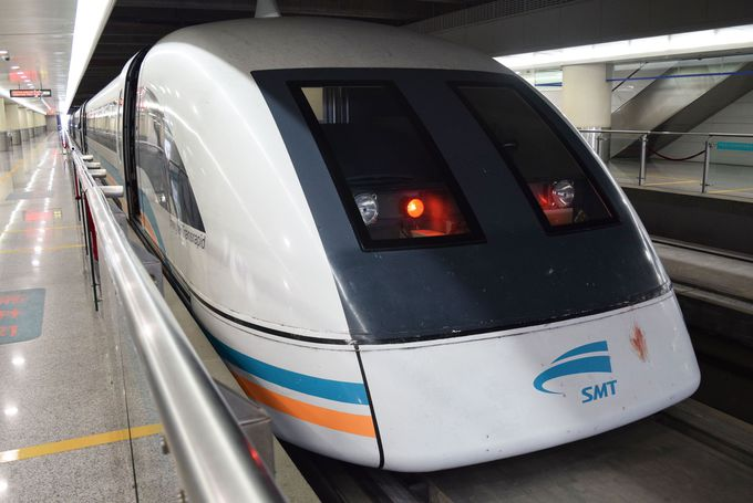 上海市内までたったの8分!世界最速リニアに乗ってみよう!