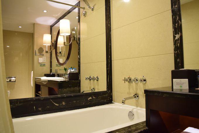 シャワー、バスタブ、トイレがすべてセパレート