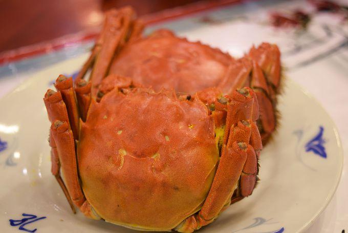 上海蟹はいつ食べたらうまい?