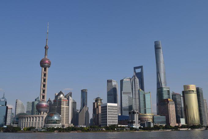世界第二位の高さを誇る上海タワーが完成!