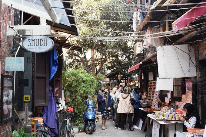 上海のSOHOとも呼ばれるおしゃれエリア「田子坊」