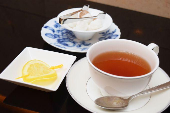 イチゴフレーバーのアイス緑茶が絶品!
