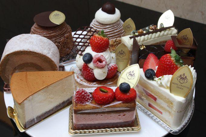 ちょっと足りないなと思ったらホテルメイドの選べるケーキを