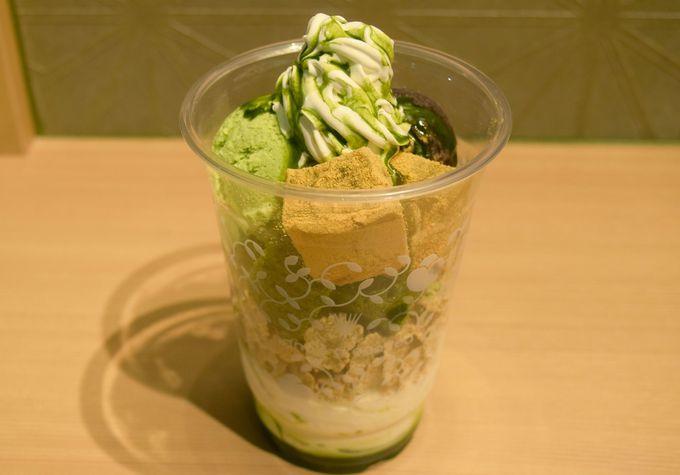 本格的な抹茶パフェが機内で味わえる!「nana's green tea」