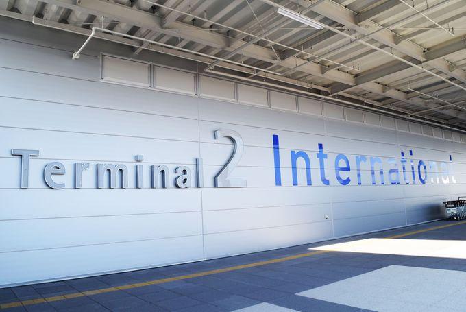 関西国際空港・第2ターミナルビルへは無料送迎バスで