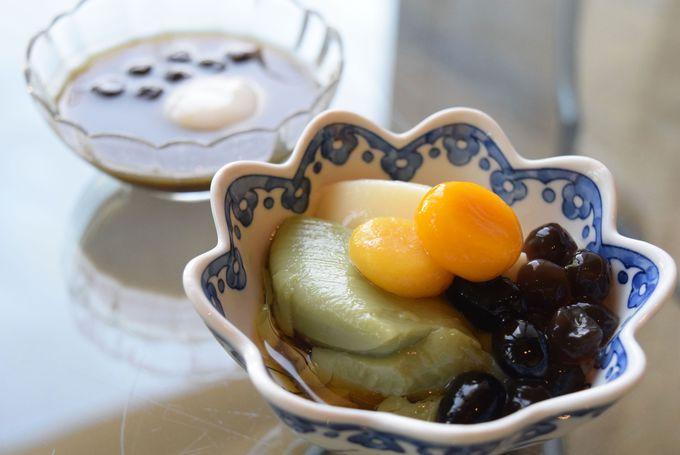 台湾の人気スイーツ豆花と茶葉ラテタルトが新登場!